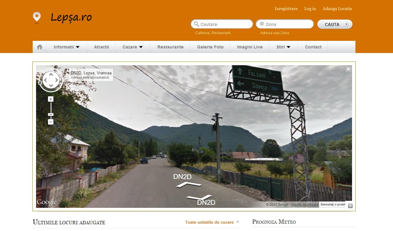 Lepsa Google Street View