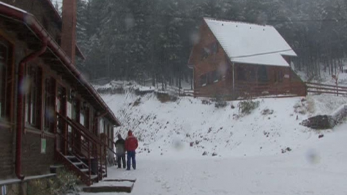 Iarna s-a instalat deja in zonele montane din tara